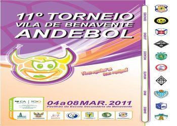 Cartaz11º Torneio de Andebol Vila de Benavente