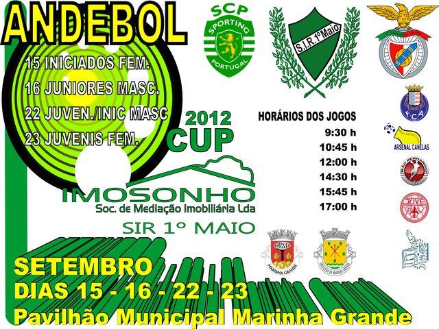 Cartaz Torneio de Abertura II Imosonho Cup / SIR 1º de Maio