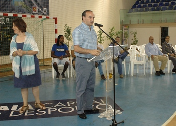 Manuel Moreira (presidente da AABraga) - Encerramento Maia Handball Cup