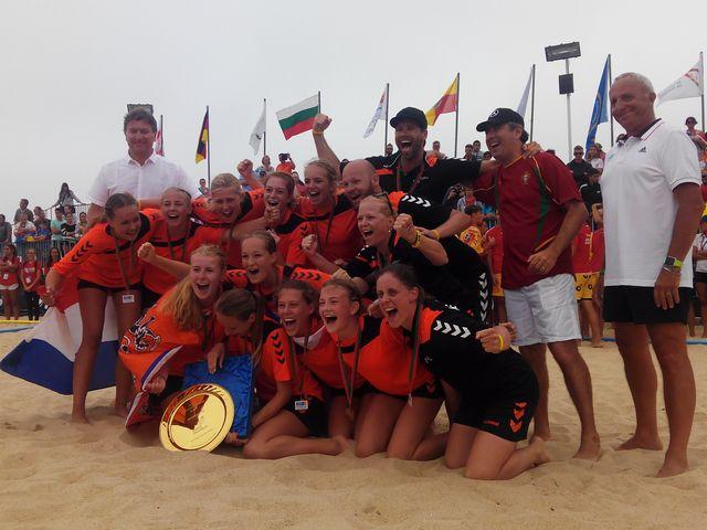 Holanda - campeã da europa sub16 femininos