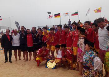 Espanha - campeão da europa sub16 masculinos
