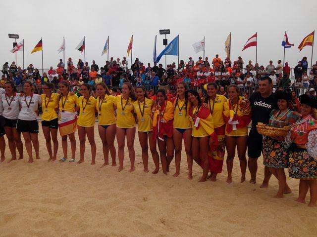 Espanha - medalha de prata do campeonato da europa sub16 femininos