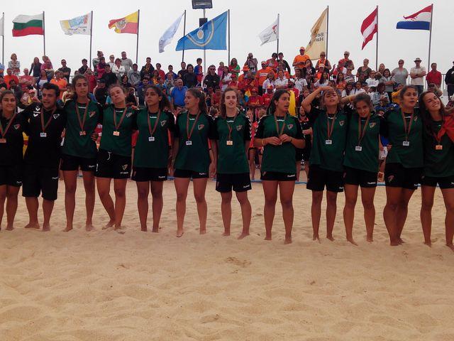 Portugal - medalha de bronze do campeonato da europa sub16 femininos