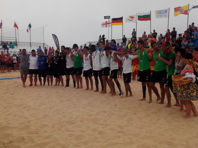 Portugal - medalha de prata do campeonato da europa sub16 masculinos