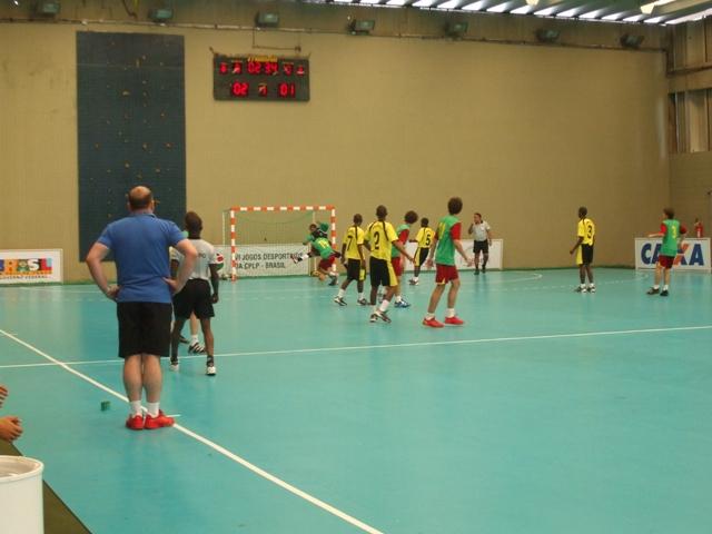 Selecção Nacional Junior C Masculina - Jogos CPLP - Portugal : Moçambique 2