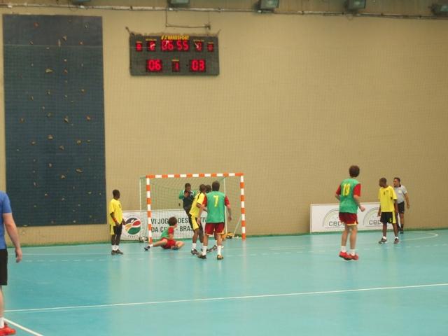 Selecção Nacional Junior C Masculina - Jogos CPLP - Portugal : Moçambique 3