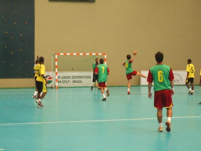 Selecção Nacional Junior C Masculina - Jogos CPLP - Portugal : Moçambique 4