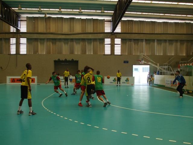 Selecção Nacional Junior C Masculina - Jogos CPLP - Portugal : Moçambique 1