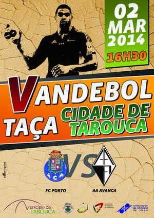 Cartaz Taça Cidade de Tarouca 2014