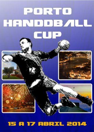 Cartaz Porto Handball Cup