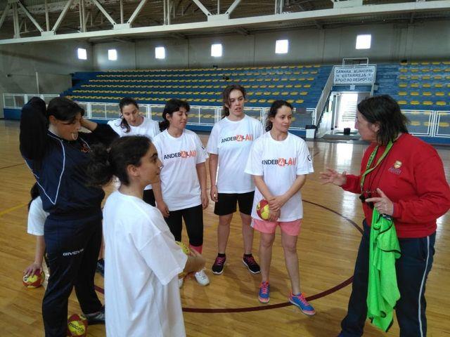 1º Estágio de Preparação da Seleção Nacional Feminina ANDDI / FAP