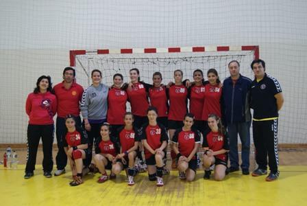 Juventude D. Lis - Fase Final do Campeonato Nacional 1ª Divisão Iniciados Femininos - Leiria, 7 a 9.05.10
