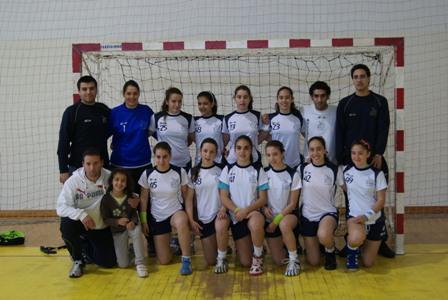 JAC-Alcanena - Fase Final do Campeonato Nacional 1ª Divisão Iniciados Femininos - Leiria, 7 a 9.05.10
