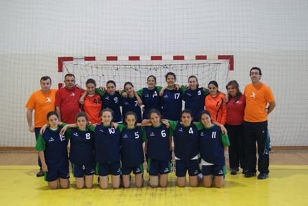 CD Bartolomeu Perestrelo - Campeão Nacional 1ª Divisão Iniciados Femininos 2009/10