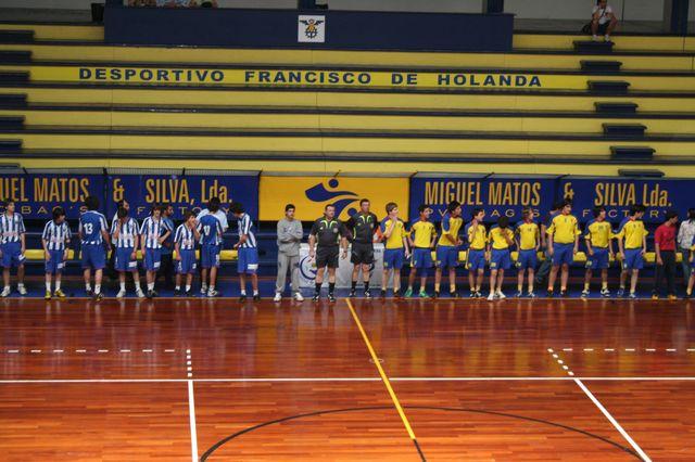FC Porto : DF Holanda - Fase Final Campeonato Nacional 1ª Divisão Iniciados Masculinos - Troféu Pousadas da Juventude 1