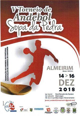 Cartaz V Torneio Sopa da Pedra Almeirim 2018