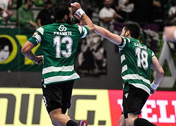 Velux EHF Champions League: Sporting CP - Besiktas Mogaz HT - 7ª Jornada - Grupo D