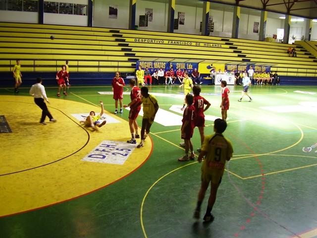 Fase Final Juvenis Masculinos 1ª Divisão 2006/07, Guimarães 4