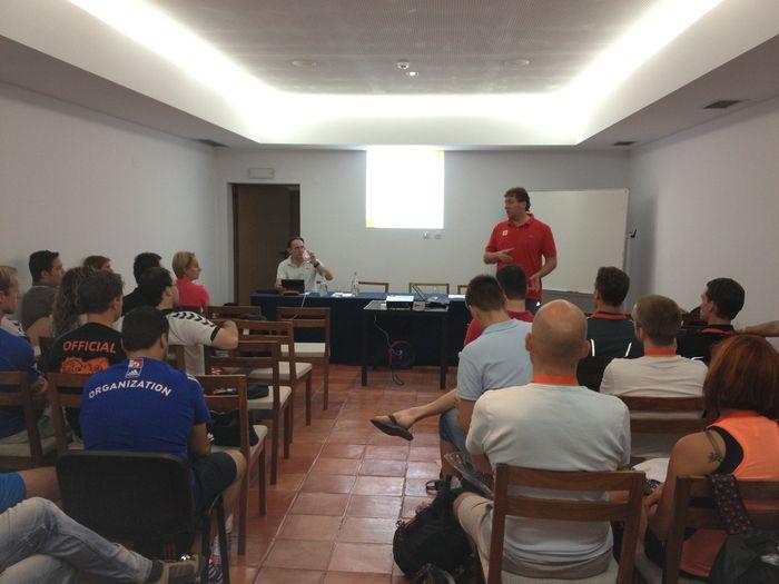 Cursos EHF de Árbitros, Delegados e Treinadores de Andebol de Praia