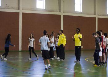 Supertaça 2011 - Visita do FC Porto à Escola Secundária Manuel Teixeira Gomes - foto: João Matos
