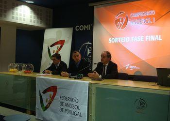 Sorteio Fase Final Andebol 1 - 2016/2017