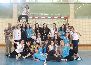 Colégio de Gaia - Campeão Nacional Juniores Femininos