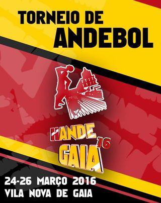 Cartaz Torneio HANDEGAIA 2016