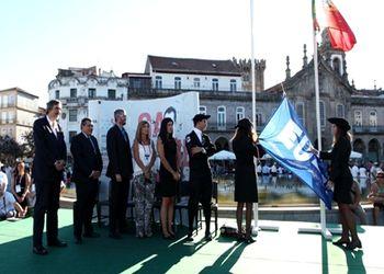 Cerimónia abertura Campeonato Europeu Universitário de Andebol Braga 2015
