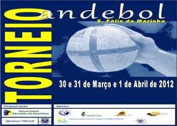 Cartaz Torneio de Andebol S. Félix da Marinha