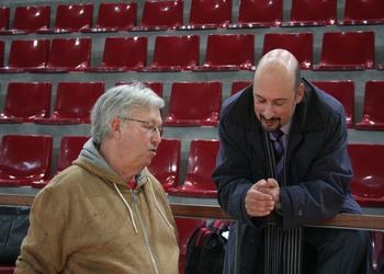 Pedro Correia (presidente do CAC) e Rolando