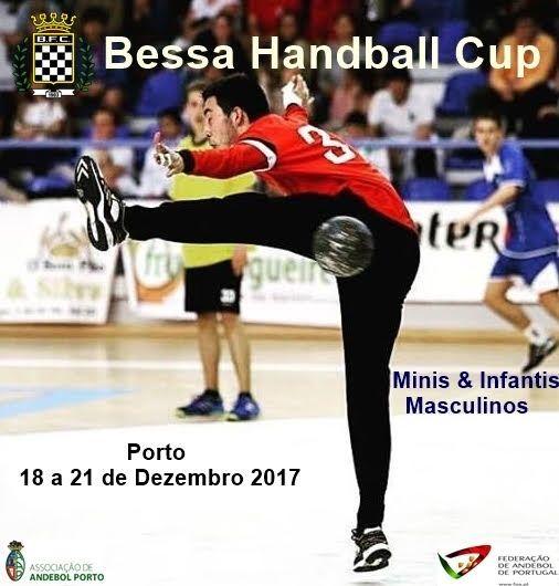 Cartaz Bessa Handball Cup 2017