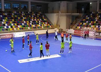 Seleção Nacional A Feminina - treino em Tondela