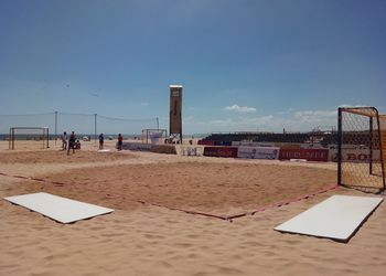 Preparação da fase final do circuito nacional de Andebol de Praia 2015