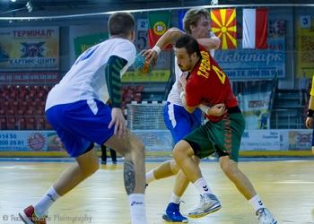 Tiago Pereira no jogo Ucrânia-Portugal