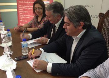 Assinatura procotolo em Mangualde - fase final Next21 2011-12