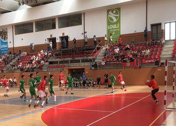 Encontro Nacional Infantis Masculinos - SL Benfica : Estrela Vigorosa Sport