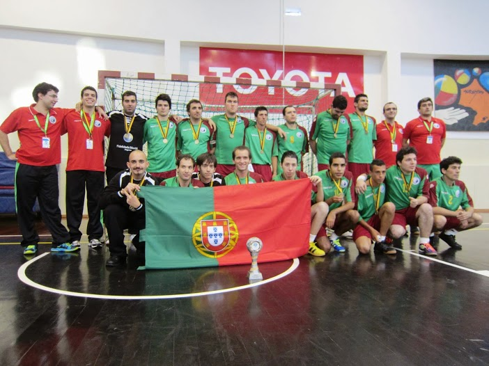 Portugal - vencedor ANDDIball International Cup 2013