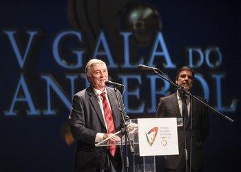 Ulisses Pereira e presidente Câmara Castelo Branco na V Gala