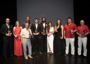 Vencedores V Gala do Andebol