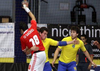 4a jornada Andebol 1 - Xico Andebol : SL Benfica - Marino Machado e Carlos Carneiro
