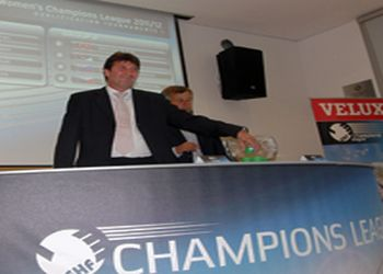 sorteio EHF Champions League