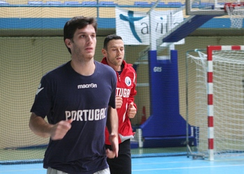 Fábio Magalhães e Hugo Laurentino - Treino Tavira Out.2012