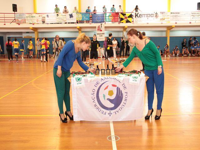 Cerimónia de entrega de prémios - final da Taça de Portugal Seniores Femininos
