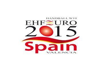 Logo Campeonato da Europa Femininos Sub19 2015