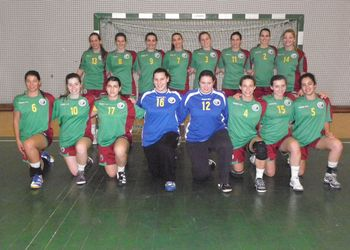 Selecção Nacional Juniores A femininas 2010 - 2011