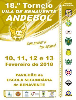 Cartaz 18º Torneio Vila de Benavente
