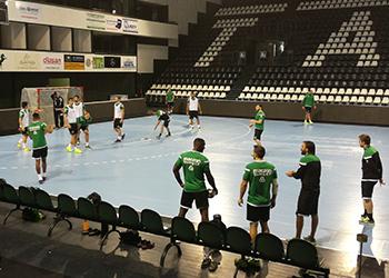 Treino Sporting CP (Presov) - Qualificação Velux EHF Champions League 2017 (1)