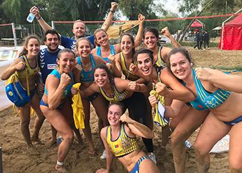 Beach Handball Champions Cup 2018 - GRD Leça apostaganha.com - Meias-Finais