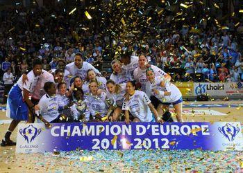 HAC Handball - vencedor da Challenge Cup feminina 2011-12