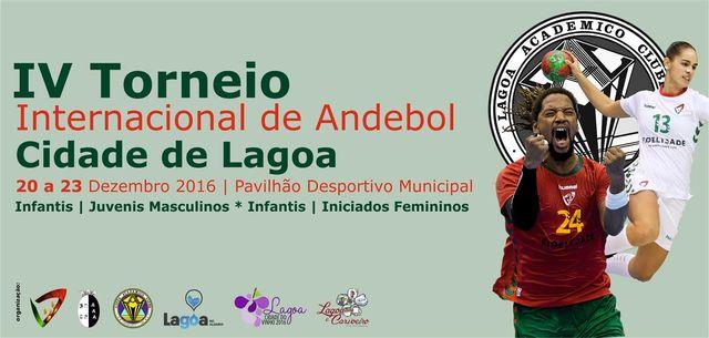 Cartaz IV Torneio Internacional Cidade de Lagoa